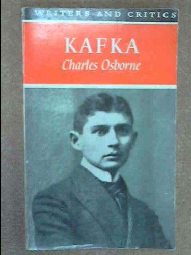 9780050015803: Kafka