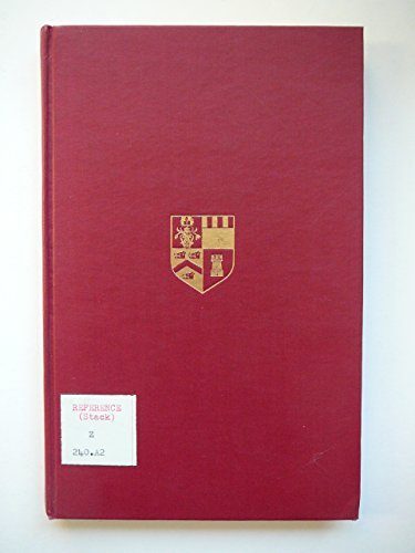 9780050016527: Incunabula in Aberdeen University Library: Catalogue (Aberdeen University studies)