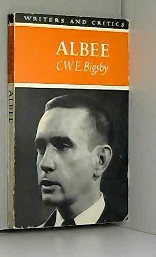 9780050017777: Edward Albee (Writers & Critics)