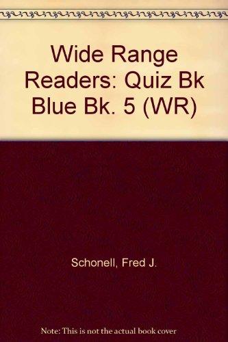 9780050019726: Wide Range Readers: Quiz Bk Blue Bk. 5 (WR)