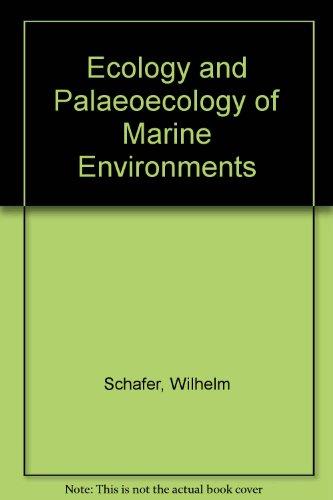 9780050021279: Ecology and Palaeoecology of Marine Environments
