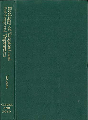 9780050021309: Ecology of tropical and subtropical vegetation;