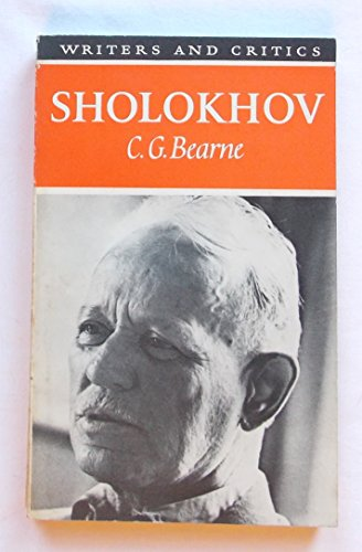 9780050021453: Sholokhov (Writers & Critics S.)