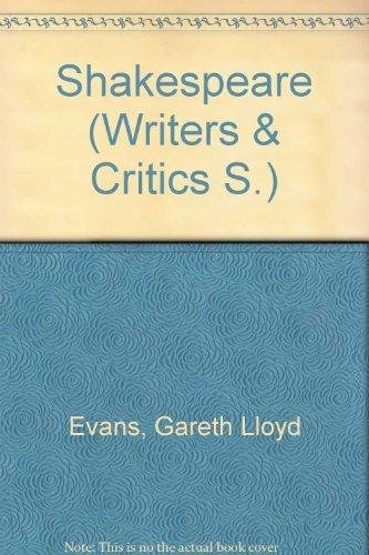 9780050021507: Shakespeare: v. 2 (Writers & Critics)