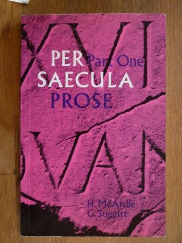 9780050021712: Per Saecula: Prose