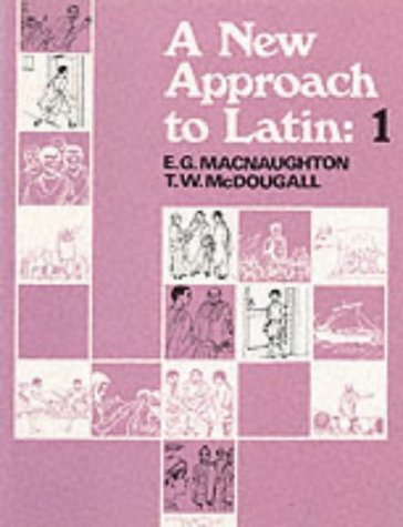 9780050021859: A New Approach to Latin: Pt. 1