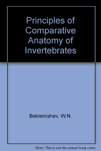 9780050021897: Principles of Comparative Anatomy of Invertebrates