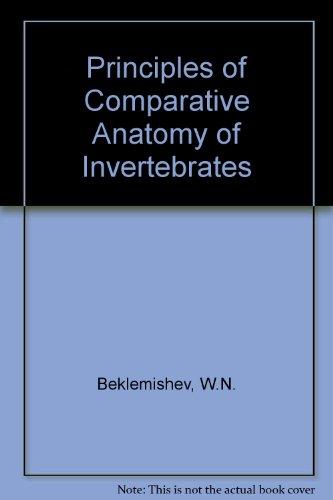 9780050021897: Principles of Comparative Anatomy of Invertebrates