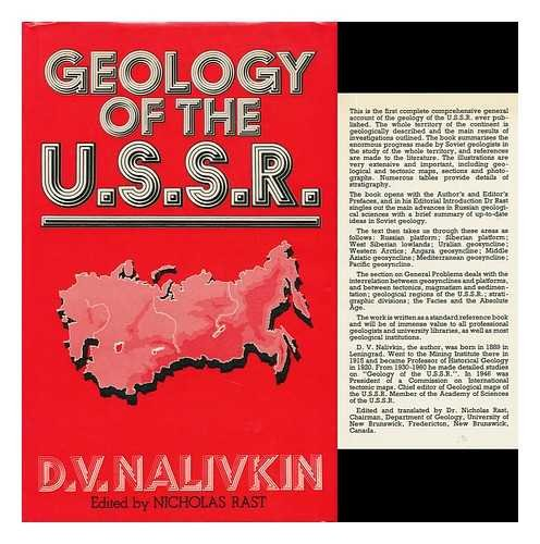 9780050021972: Geology of the U.S.S.R
