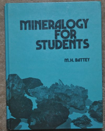 9780050022436: Mineralogy for Students