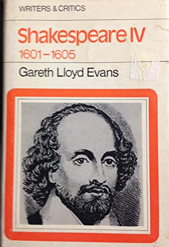 9780050023266: Shakespeare: v. 4 (Writers & Critics)