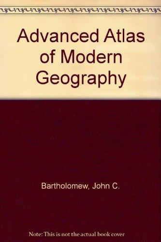 9780050023419: Advanced Atlas of Modern Geography