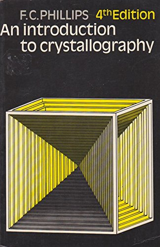 9780050023587: Introduction to Crystallography