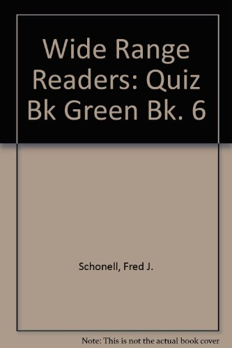 9780050024188: Wide Range Readers: Quiz Bk Green Bk. 6