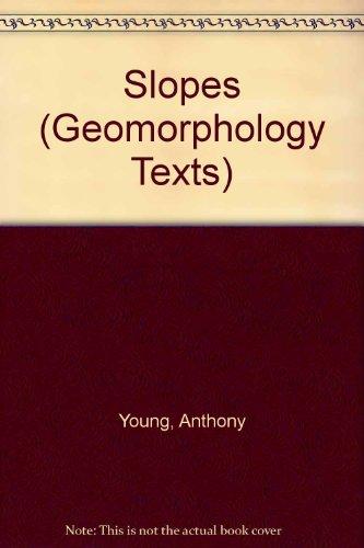 9780050024485: Slopes (Geomorphology Texts)