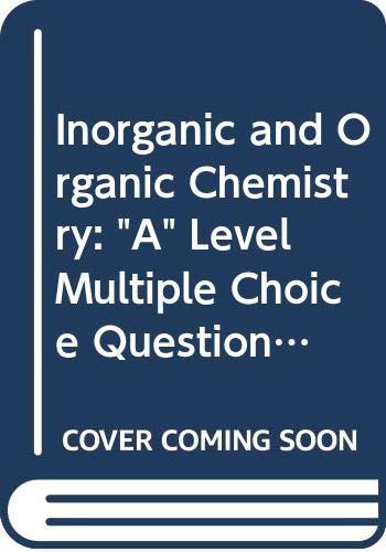 9780050024492: Inorganic and Organic Chemistry: