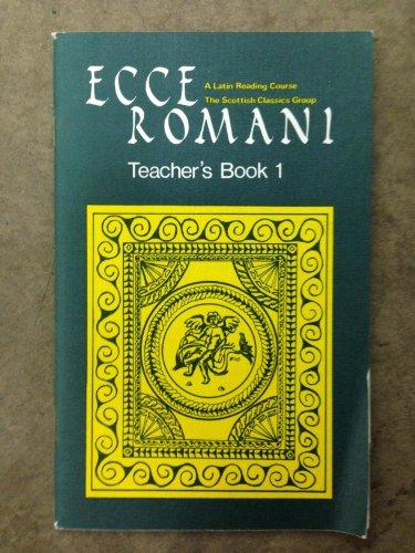 9780050024591: Ecce Romani: Tchrs' Bk. 1