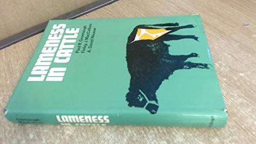 Lameness in Cattle: Greenough, Paul R.
