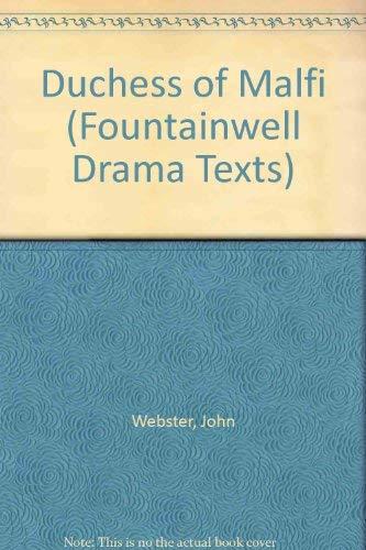 9780050024942: Duchess of Malfi (Fountainwell Drama Texts)