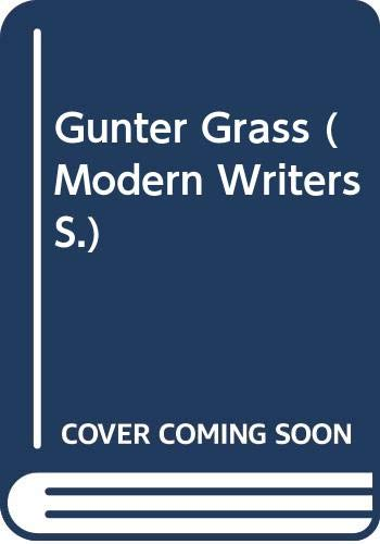 9780050026625: Gunter Grass (Modern Writers)