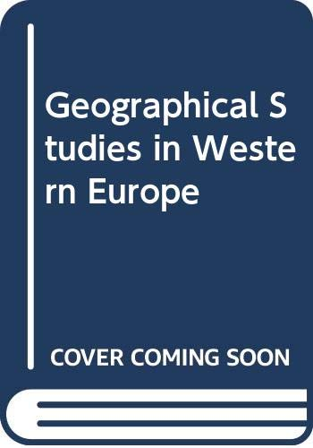 9780050028797: Geographical Studies in Western Europe