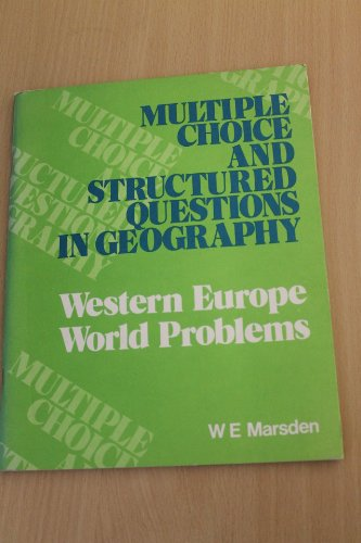 9780050028803: Western Europe and World Problems