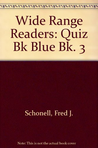 9780050029343: Wide Range Readers: Quiz Bk Blue Bk. 3