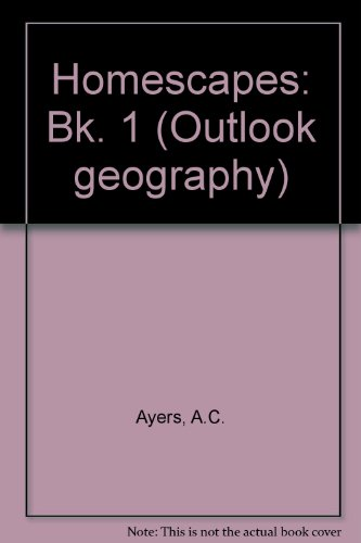 9780050029480: Homescapes: Bk. 1 (Outlook geography)