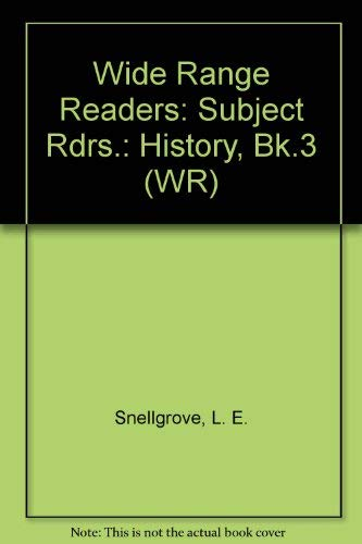 9780050030547: Wide Range Readers: Subject Rdrs.: History, Bk.3 (WR)