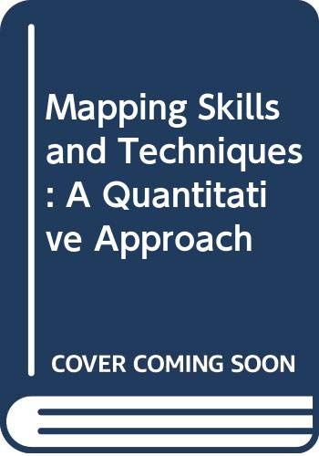9780050031384: Mapping Skills and Techniques: A Quantitative Approach