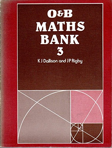 9780050031568: Mathematics Bank: Bk. 3