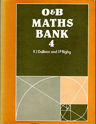 9780050031575: Mathematics Bank: Bk. 4