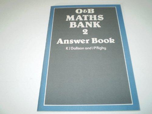 9780050032480: Mathematics Bank: Ans Bk. 2
