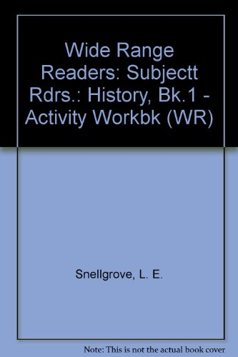 9780050033050: Wide Range Readers: Subjectt Rdrs.: History, Bk.1 - Activity Workbk (WR)
