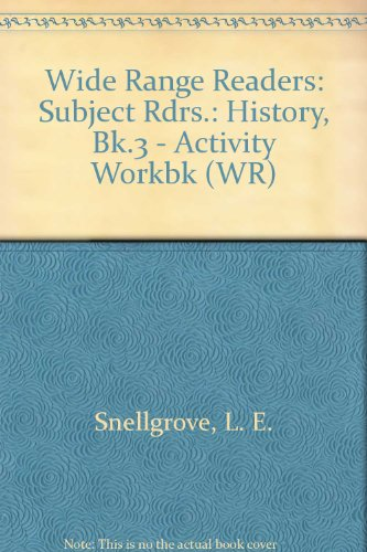 9780050033074: Wide Range Readers: Subject Rdrs.: History, Bk.3 - Activity Workbk (WR)
