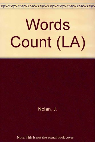 9780050033241: Words Count (LA)