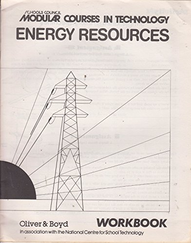 9780050033821: Modular Courses in Technology: Energy Resources: Workbks