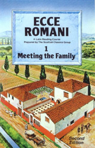 9780050034651: Ecce Romani: Meeting the Family Bk. 1: a Latin Reading Course