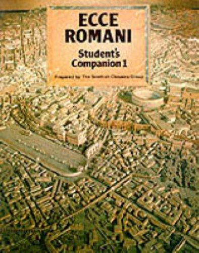 9780050035498: Ecce Romani: Student's Companion 1