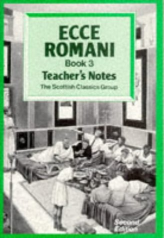 9780050035535: Ecce Romani: Teachers' Bk.3