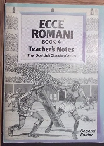 9780050035542: Ecce Romani: Teachers' Bk.4