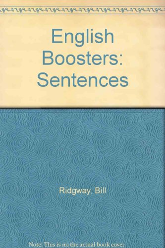 9780050036082: English Boosters: Sentences