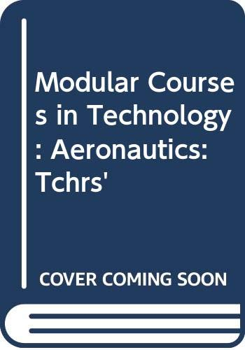 9780050037881: Modular Courses in Technology: Aeronautics: Tchrs'
