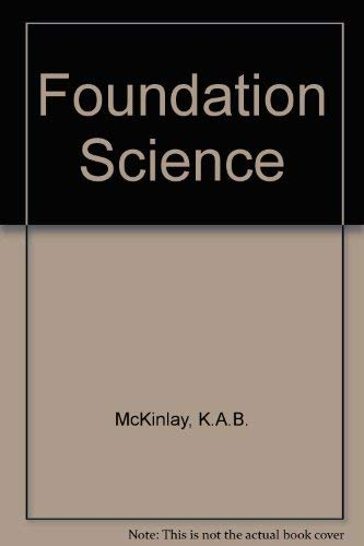 9780050037959: Foundation Science