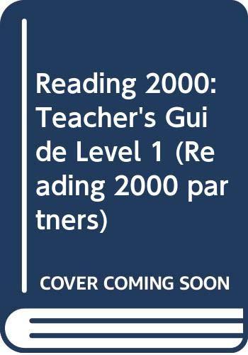 9780050038529: Reading 2000: Teacher's Guide Level 1 (Reading 2000 partners)