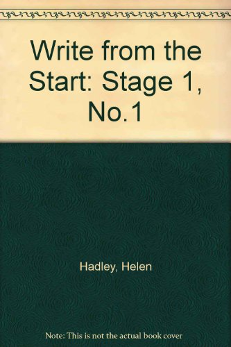 9780050039441: Write from the Start: Stage 1, No.1