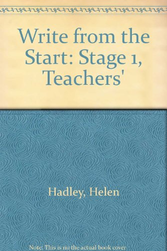 9780050039502: Write from the Start: Stage 1, Teachers'