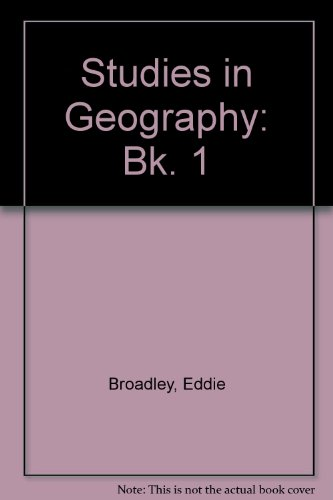 9780050040553: Studies in Geography: Bk. 1