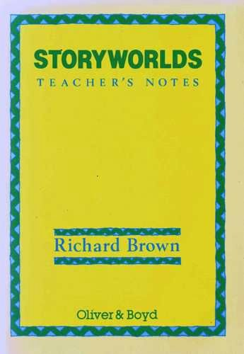 9780050042021: Storyworlds: Teachers': A Multicultural Anthology