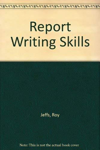 9780050044827: Report Writing Skills